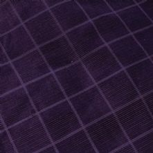 Purple 'Square' Corduroy 1m Remnant
